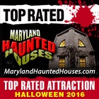 Top Rated in 2016 by MarylandHauntedHouses.com